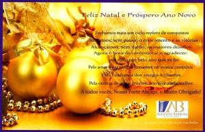 cartão natal 2012